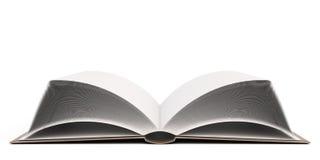 Öffnen Sie Buch 3d Stockfoto