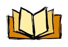 Öffnen Sie Buchabbildung Stockfotografie