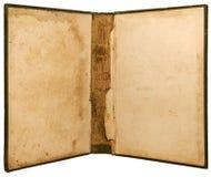 Öffnen Sie Buchbindung des Weinlese-Buches Lizenzfreie Stockfotografie