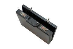 Öffnen Sie den schwarzen getrennten Koffer Lizenzfreie Stockbilder