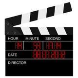 Öffnen Sie digitale Filmschindel Stockbild