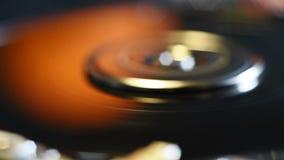 Öffnen Sie Festplattenlaufwerk stock footage