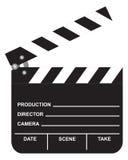 Öffnen Sie Film-Schindel Stockfoto