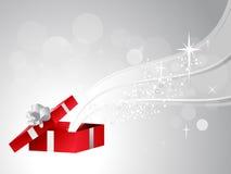 Öffnen Sie Geschenk-Kasten Stockbild