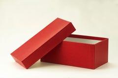 Öffnen Sie Geschenkbox Lizenzfreies Stockfoto