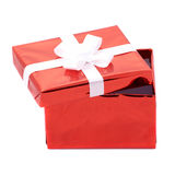 Öffnen Sie Geschenkkasten Stockbilder