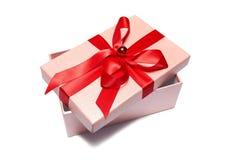 Öffnen Sie Geschenkkasten Lizenzfreie Stockfotos