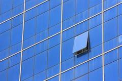 Öffnen Sie Glasfenster Lizenzfreies Stockbild