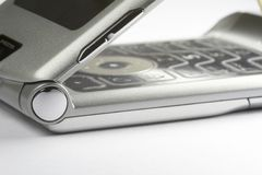 Öffnen Sie Handy 02 Lizenzfreies Stockbild
