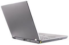 Öffnen Sie hintere Ansicht des Laptops Stockfotos
