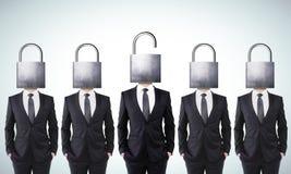Öffnen Sie Ihr Sinnesgeschäftskonzept lizenzfreie abbildung