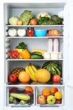 Öffnen Sie Kühlraum stockfotografie