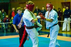 Öffnen Sie Karateturnier kiokusinkaj, Lizenzfreies Stockfoto