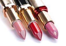 Öffnen Sie Lippenstift lizenzfreie stockfotos