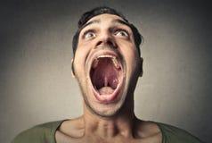 Öffnen Sie Mund stockfotografie