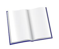 Öffnen Sie Notizblock Stockbilder
