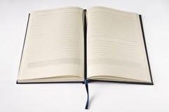 Öffnen Sie Notizbuch Stockbilder