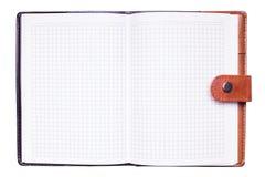 Öffnen Sie Notizbuch Stockfotografie