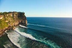 Öffnen Sie Ozeanwellen Lizenzfreie Stockfotos