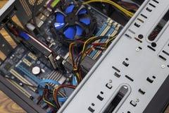 Öffnen Sie PC-Computerkasten Lizenzfreies Stockbild