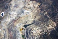 Öffnen Sie Pit Mining Stockbild