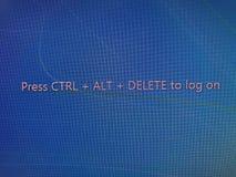 Öffnen Sie Programm Lizenzfreies Stockfoto