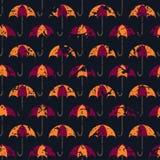 Öffnen Sie Regenschirme für Ihr Design Lizenzfreies Stockfoto