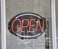 Öffnen Sie sich für Geschäft Lizenzfreie Stockfotografie