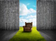 Öffnen Sie sich zur Natur Lizenzfreie Stockbilder