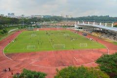 Öffnen Sie Stadion Lizenzfreie Stockfotos