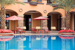 Öffnen Sie Swimmingpool Lizenzfreies Stockbild