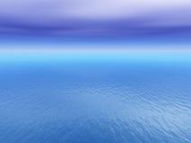Öffnen Sie tropischen Seehintergrund Stockfotos