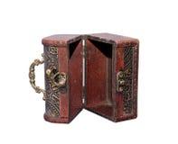 Öffnen Sie weit antiken Kasten Lizenzfreies Stockfoto