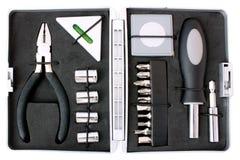 Öffnen Sie Werkzeugkasten, Draufsicht Stockbild