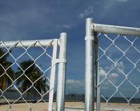 Öffnen Sie Zaun Stockbilder