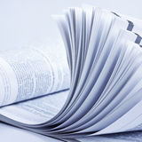 Öffnen Sie Zeitschrift Lizenzfreie Stockfotografie