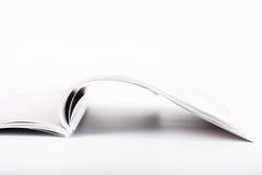 Öffnen Sie Zeitschrift Lizenzfreie Stockbilder