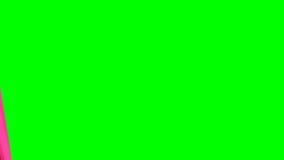 Öffnen und schließend gestreifter Vorhang stock abbildung