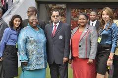 Öffnung des Nelson- Mandelaschachtes Staduim Lizenzfreie Stockfotos