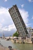 Öffnung einer Brücke Stockbilder
