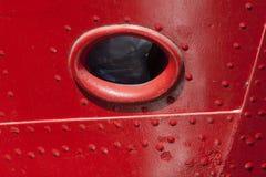 Öffnung im Schiffsbug Lizenzfreies Stockbild