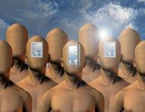 Öffnungen zum Verstand Stockfotos