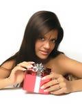 Öffnungs-Geschenk stockbilder