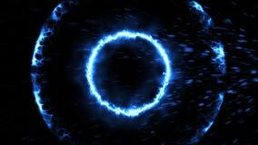 Öffnungsintro Partikel, Stoßwelle vektor abbildung