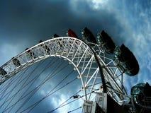 Öga av det London hjulet Royaltyfri Foto