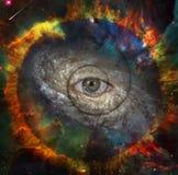 Öga av guden stock illustrationer