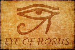 Öga av horusen. royaltyfri illustrationer