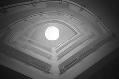 Öga av ljus Arkivbilder