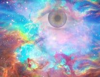 Öga för gud` s vektor illustrationer