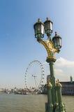öga london Royaltyfria Bilder